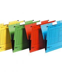 папка картонена v-образна за картотека Herlitz