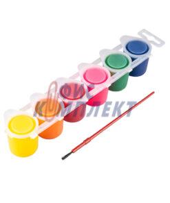 темперни бои primo fluo 6 Цвята