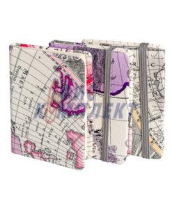 джобен бележник с ластик GEOGRAPHICIC