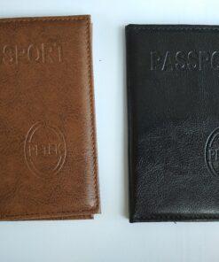 Кожен калъф за международен паспорт