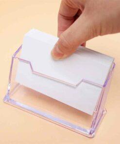 Поставка за визитки PVC