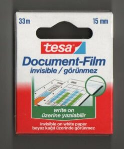 ТИКСО TESA INVISIBILE DOCUMENT FILM