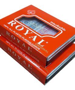 Карти за игра 100% пластик Royal